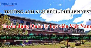 Trường Anh ngữ BECI tuyển dụng quản lý học viên Việt Nam