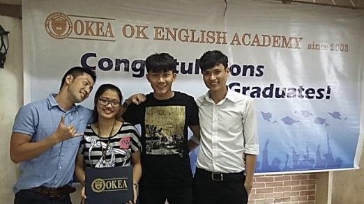 Cảm nhận của học viên về trường Anh ngữ OKEA