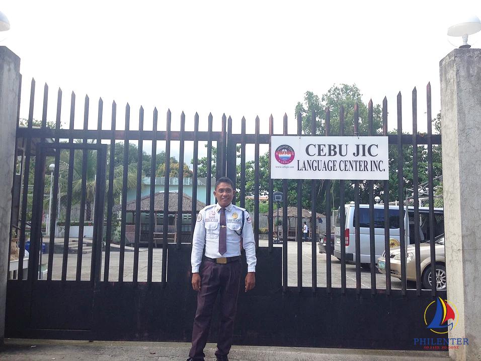 Cổng trường Anh ngữ CEBU JIC