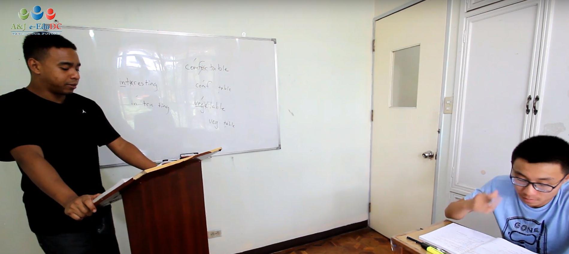 Giáo viên bản ngữ tại trường Anh ngữ A&J