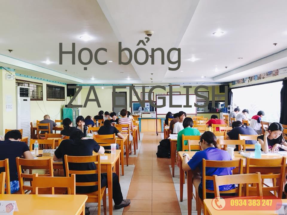 Học bổng trường Anh ngữ ZAEnglish