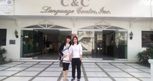 Anna tại trường Anh ngữ C&C