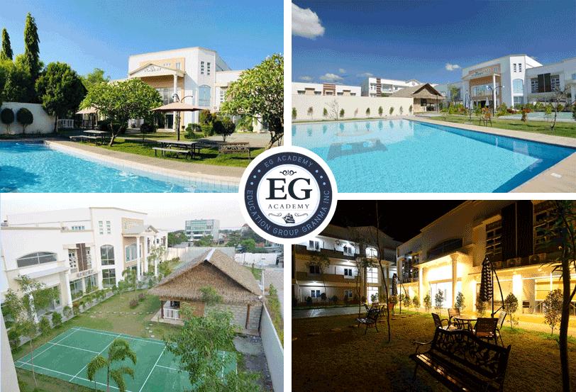 Cơ sở vật chất trường Anh ngữ EG
