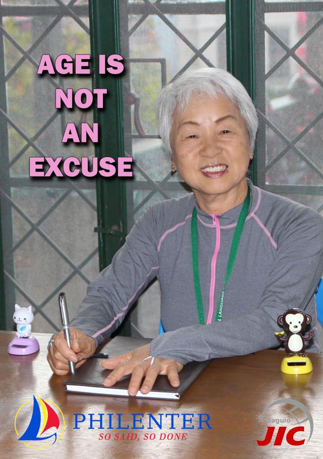 Bà Kimiko tại trường JIC