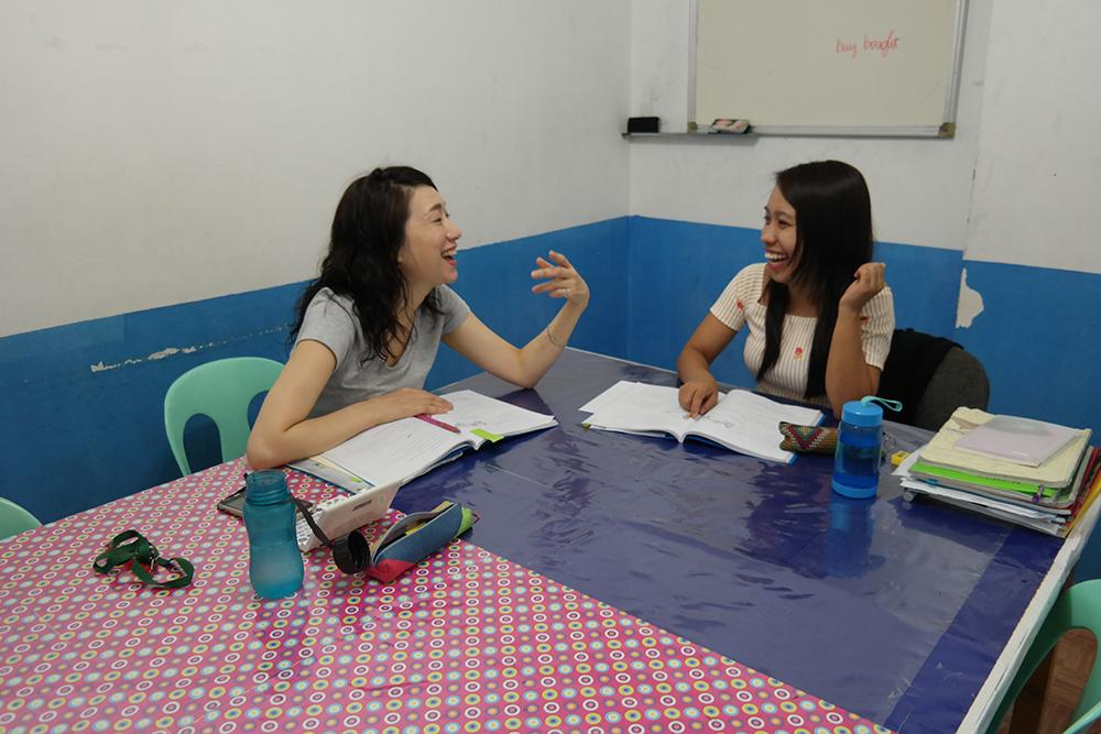 Lớp học 1:1 tại Philippines