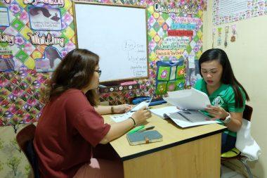 Lớp luyện kĩ năng tại trường Anh ngữ ZA English