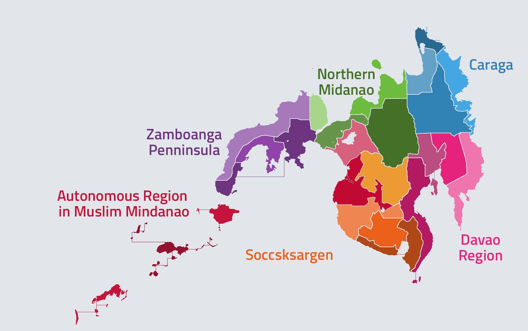 Từ Manila tới Mindanao hơn 1000km