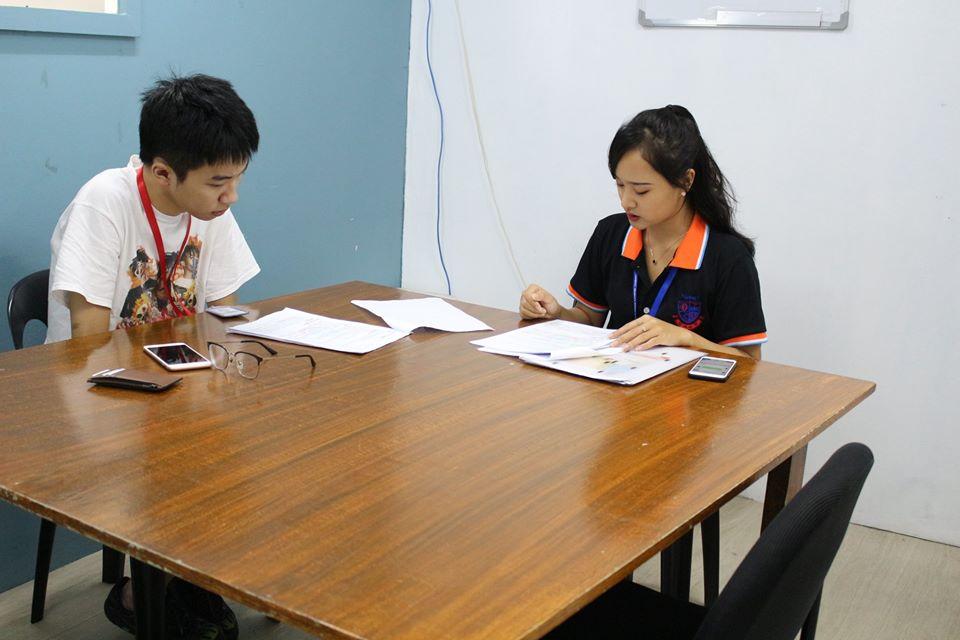Quy trình tư vấn học tập tại trường Anh ngữ OMGE